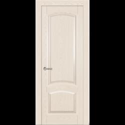 Межкомнатная дверь Александрит глухая ясень крем