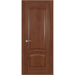 Межкомнатная дверь Александрит глухая дуб миндаль