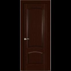 Межкомнатная дверь Александрит глухая ясень шоколад