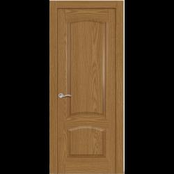 Межкомнатная дверь Александрит глухая дуб медовый