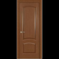 Межкомнатная дверь Александрит глухая дуб темный